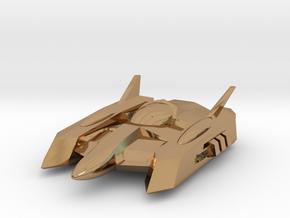 "RetroRocket ""Centaurus"" in Polished Brass"