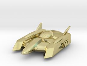 """RetroRocket """"Centaurus"""" in 18k Gold Plated Brass"""
