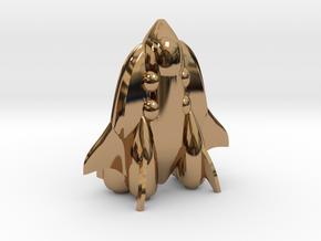 "RetroRocket ""Cetus"" in Polished Brass"