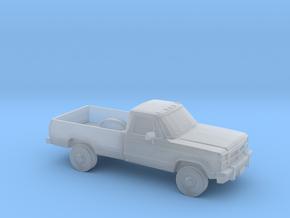 1/64 1991-93 Dodge Ram Single Cab in Smooth Fine Detail Plastic
