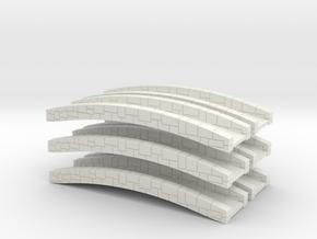 Bridge 2.0 [x6] in White Natural Versatile Plastic