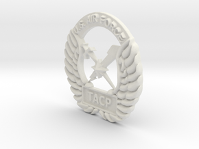 4 inch Fat Tacp Crest in White Strong & Flexible