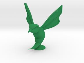 Hornet Hood Ornament in Green Processed Versatile Plastic