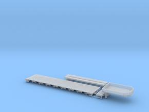 G 004-3 Tieflader ähnlich Goldhofer 8 achs V3 in Smooth Fine Detail Plastic