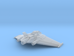 Stargate SG1 - Earths X302 [55mm Wingspan & Solid] in Smooth Fine Detail Plastic