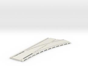 P-45st-tram-rh-point-200-1a in White Natural Versatile Plastic