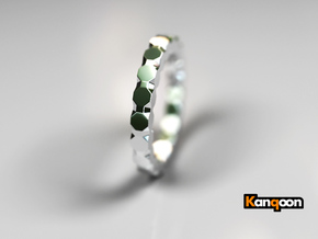 Kaethe - Ring - US 6¾ - 17.12mm in Polished Silver