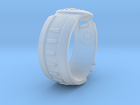 Visor Ring 7 in Smoothest Fine Detail Plastic