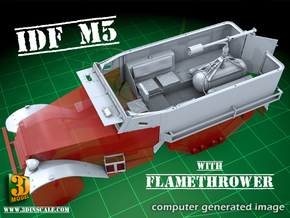 IDF M5 Flame w/o flamethrower in Smooth Fine Detail Plastic