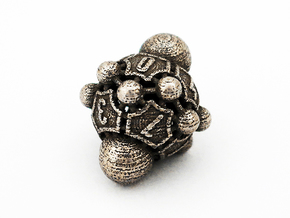 Nucleus D10 in Polished Bronzed Silver Steel