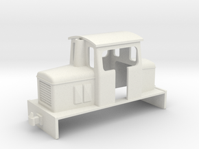 009 small OK centercab diesel  in White Strong & Flexible