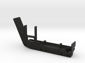 JeepTj Custom Kit-Skidplate With Battery Mount dx in Black Strong & Flexible