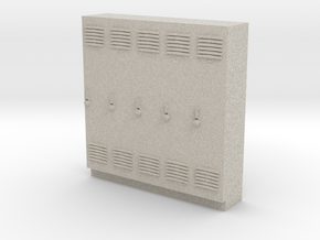 O Scale Lockers in Natural Sandstone