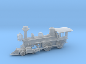 Grant 4-4-0 Locomotive - Zscale in Frosted Extreme Detail