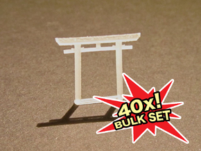 Torii, Myōjin small 40x, N-gauge in Smooth Fine Detail Plastic