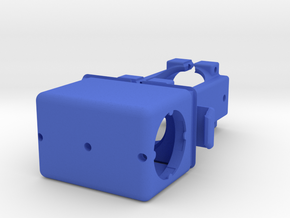 Manifold-pump Clamp For Printing Square MONO Rubec in Blue Processed Versatile Plastic