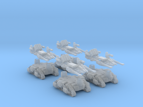 MOD S  Mini Drone Weapon Platform Squad Of 4 in Frosted Extreme Detail