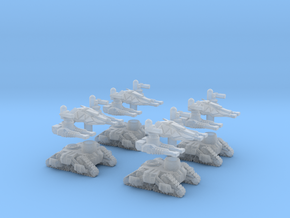 MOD S  Mini Drone Oblitorators  Squad Of 4 in Smoothest Fine Detail Plastic