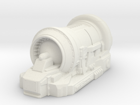 sci fi generator - tabletop size in White Natural Versatile Plastic