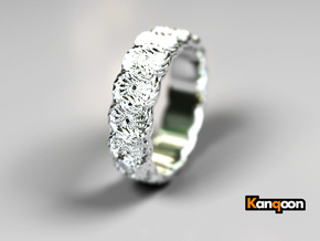 Daisy - Ring - US 6¾ - 17.12mm in Polished Silver