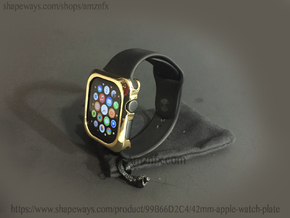 Apple Watch Metal Bumper 42mm in 18k Gold Plated