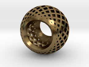 BEAD in Polished Bronze