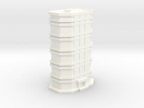 City Building #1 in White Processed Versatile Plastic