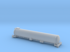 BNSF LNG Tender - Zscale in Smooth Fine Detail Plastic