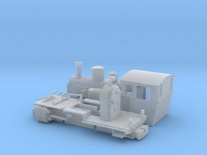 LKM Feldbahn Dampflok 70PS 0e/f in Smooth Fine Detail Plastic