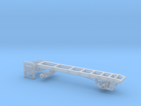 "1/87th Single Axle truck frame 175"" Wheelbase in Smooth Fine Detail Plastic"