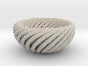 Torus bowl in Natural Sandstone
