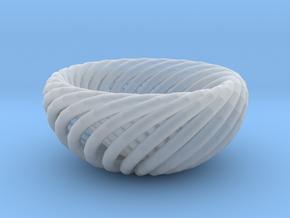 Torus bowl in Smooth Fine Detail Plastic