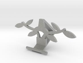Universal Phone Stand- leaf Design in Metallic Plastic