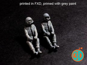 Vietnam US Tank Drivers 1/72 scale SWFUD-72-008 in Smooth Fine Detail Plastic