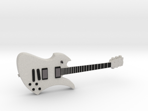 Mockingbird Guitar 1:18 in Full Color Sandstone
