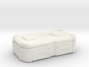 sci fi cargobox protector case in White Natural Versatile Plastic