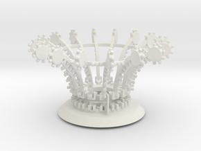 Yoyotopandbanjoslargeturbos529a in White Natural Versatile Plastic