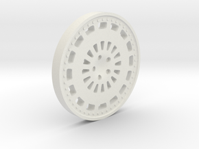 Rim Disc 27.5mm in White Strong & Flexible