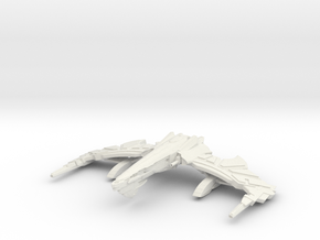 Chaos Class Refit B Warbird in White Strong & Flexible
