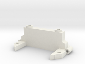 DMR MPC A-Arm Bulkhead in White Natural Versatile Plastic