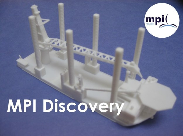 WTIV MPI Discovery (1:1200) in Smooth Fine Detail Plastic