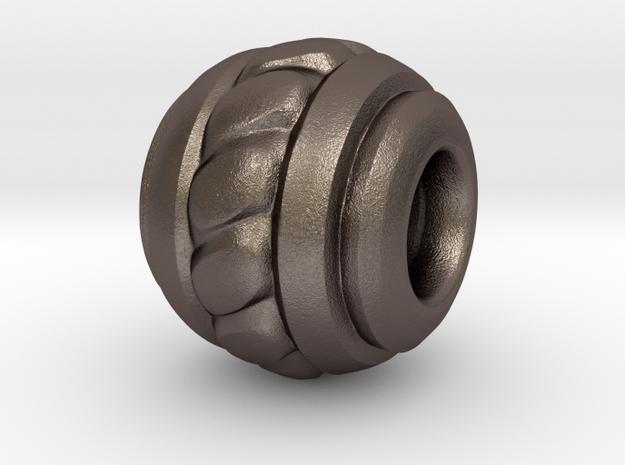 Bead Simple 01 in Stainless Steel