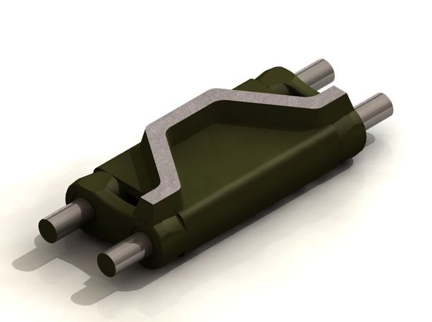T54E1 TRACK Links, C106443, Set of 175  3d printed