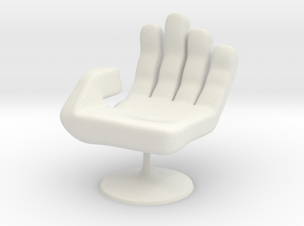 Chair No. 15 in White Natural Versatile Plastic