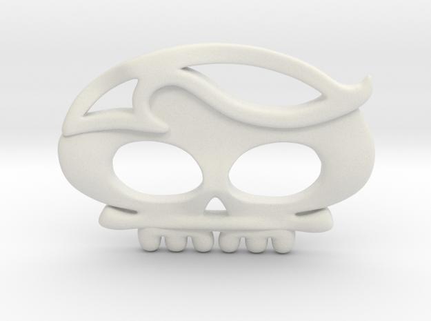 Cavalera03 in White Natural Versatile Plastic