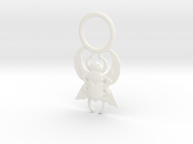 Scarab Pendant - Larger 3d printed