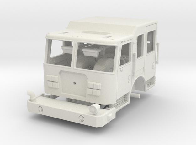 Camden NJ Pumper Cab 1/64 in White Natural Versatile Plastic