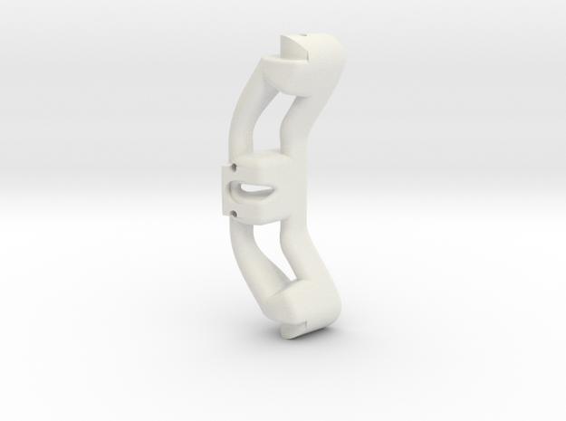 Servo Mechanism 3.0 Center Bar in White Natural Versatile Plastic