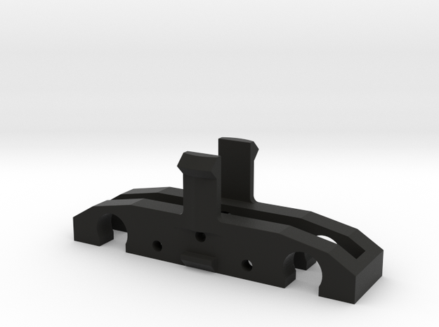 Replacement 2mm Dapol Passenger Unit Gear Train in Black Natural Versatile Plastic
