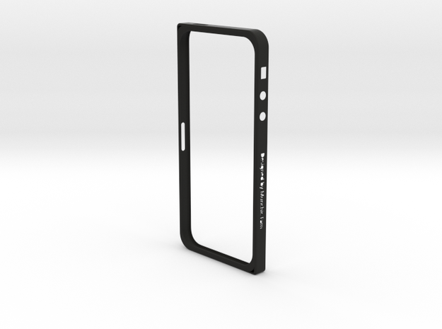 Singularity for iPhone 5/5s in Black Strong & Flexible